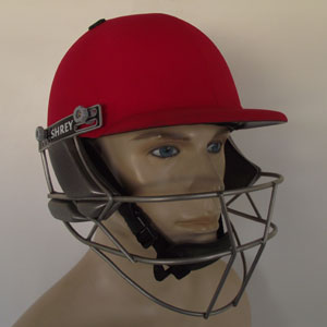 Cricket Company : Cricket Helmets : Shrey Masterclass Red