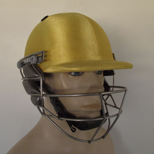 Cricket Company : Cricket Helmets : Shrey Pro Guard Gold