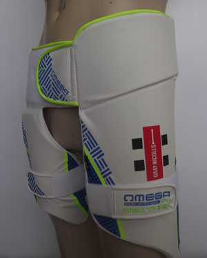 Cricket Company : Thigh Pad Sets : Gray -Nicolls Omega 360